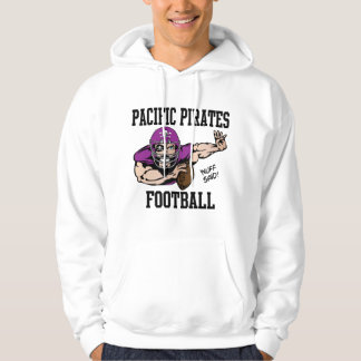 Pacific Pirates Football Hoodie