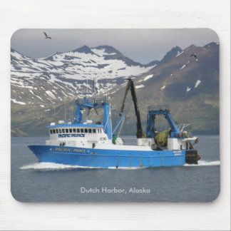 Pacific Prince, Fishing Trawler in Dutch Harbor Mouse Pads