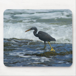 Pacific Reef Heron Mouse Pads