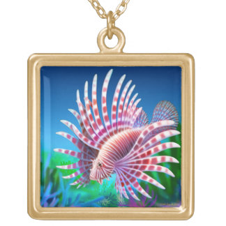 Pacific Reef Lionfish Necklace