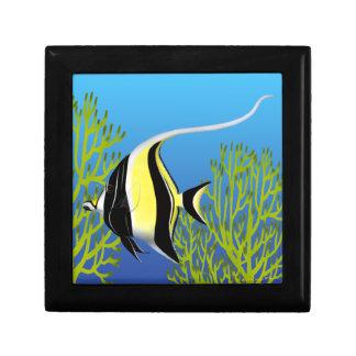Pacific Reef Moorish Idol Fish Gift Box