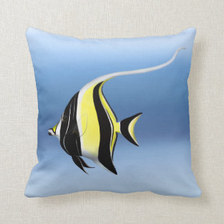 Pacific Reef Moorish Idol Fish Pillow