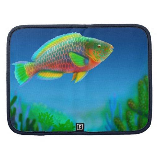 Pacific Reef Parrotfish Rickshaw Folio Planners