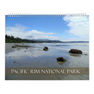 Pacific Rim National Park Reserve,British Columbia Calendar