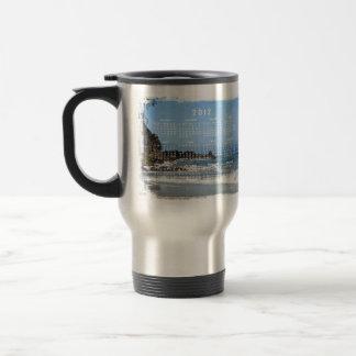 Pacific Rolling In; 2012 Calendar Travel Mug