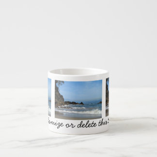 Pacific Rolling In; Customizable Espresso Cup