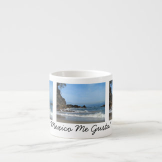 Pacific Rolling In; Mexico Souvenir Espresso Cup