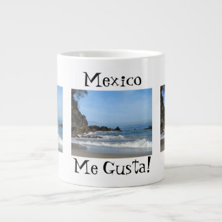Pacific Rolling In; Mexico Souvenir Large Coffee Mug