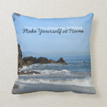 Pacific Rolling In; Promotional Throw Pillows
