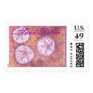Pacific Sand-dollar Postage Stamp