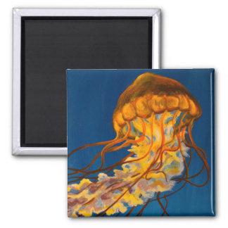 Pacific Sea Nettle 2 Inch Square Magnet