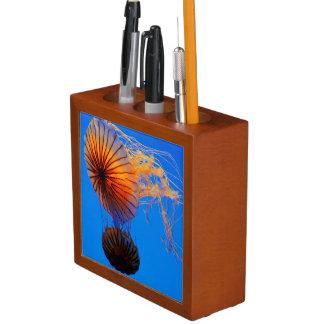 Pacific Sea Nettle (Chrysaora Fuscescens) Pencil Holder