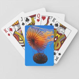 Pacific Sea Nettle (Chrysaora Fuscescens) Poker Deck