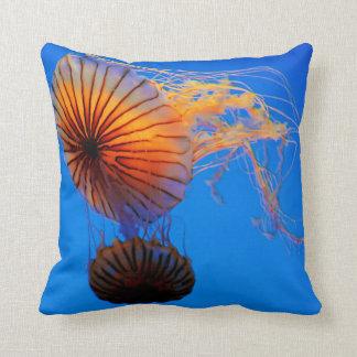 Pacific Sea Nettle (Chrysaora Fuscescens) Throw Pillow