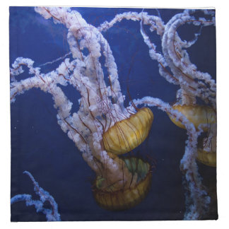Pacific sea nettle cloth napkin