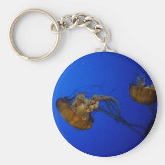 Pacific Sea Nettle Jellyfish Keychain