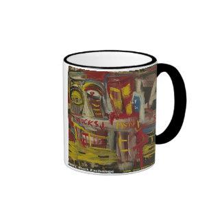 pacific stock exchange coffee mug