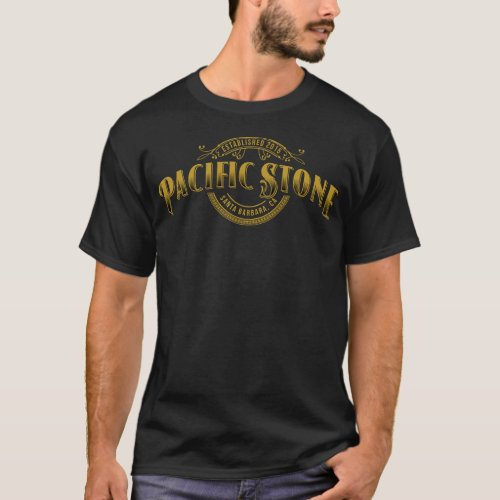 Pacific Stone Mens T_shirt