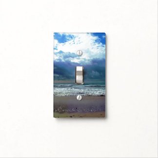 Pacific Storm Light Switch Cover