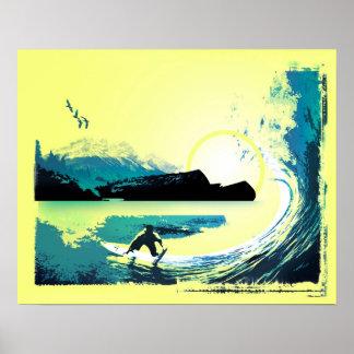 Pacific Sun Poster