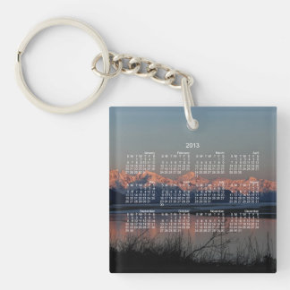 Pacific Sunset; 2013 Calendar Keychain