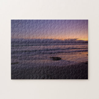 Pacific Sunset Colors Jigsaw Puzzle