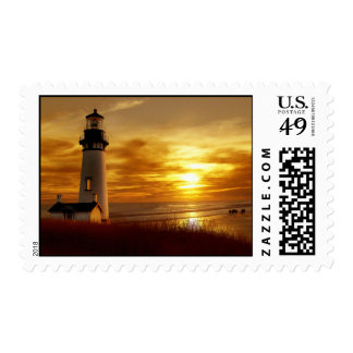 Pacific Sunset Stamp