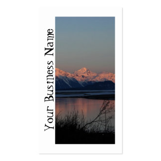 Pacific Sunset; Promotional Double-Sided Standard Business Cards (Pack Of 100)