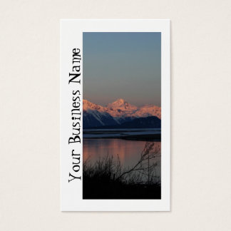 Pacific Sunset; Promotional Business Card