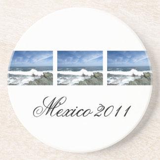 Pacific Taking Over; Mexico Souvenir Coasters