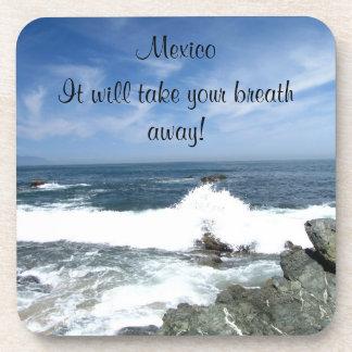 Pacific Taking Over; Mexico Souvenir Beverage Coasters