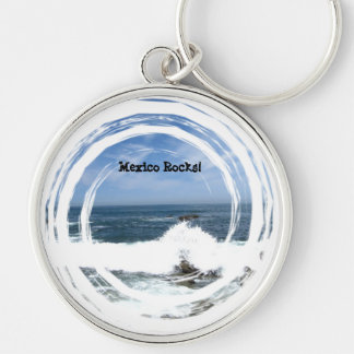 Pacific Taking Over; Mexico Souvenir Keychain