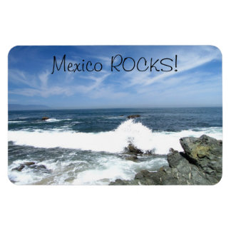 Pacific Taking Over; Mexico Souvenir Rectangle Magnets