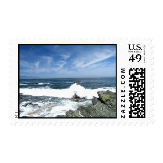 Pacific Taking Over Postage Stamp