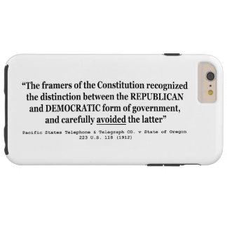 Pacific Telephone Co v Oregon 223 US 118 (1912) Tough iPhone 6 Plus Case