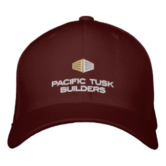 Pacific Tusk Builders Dark Apparel Embroidered Baseball Hat
