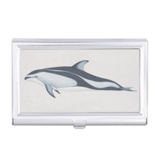 Pacific White-Sided Dolphin Business Card Case