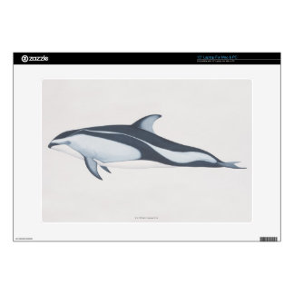 Pacific White-Sided Dolphin Skin For Laptop