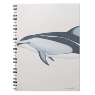 Pacific White-Sided Dolphin Spiral Notebook
