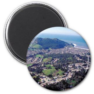 Pacifica California Imán Redondo 5 Cm