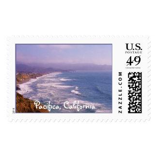 Pacifica Coastline California Stamp