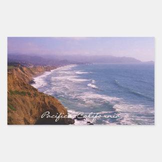 Pacifica Coastline California  Sticker