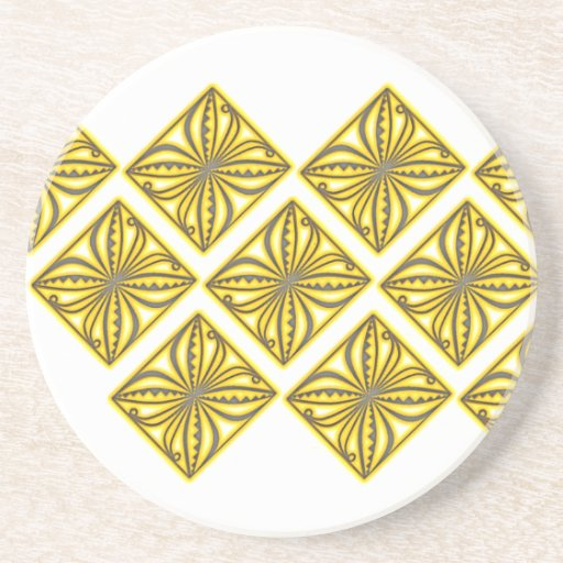 Pacifica Siale de oro Posavasos Personalizados