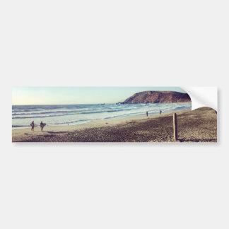 Pacifica State Beach Bumper Sticker