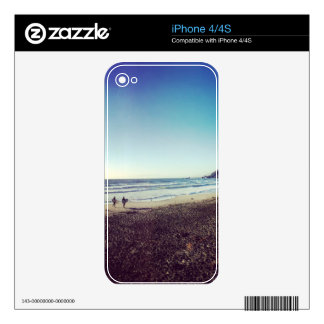 Pacifica State Beach Skins For iPhone 4