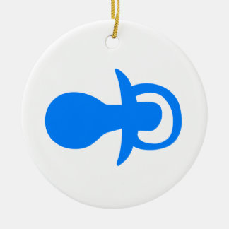 Pacificador azul ornamento de reyes magos