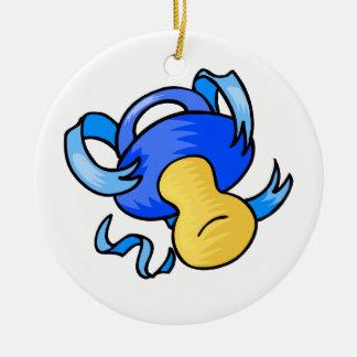 pacificador azul ornaments para arbol de navidad
