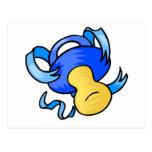 pacificador azul postal