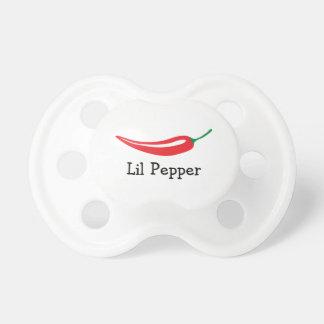 Pacificador candente personalizado del bebé de la chupetes de bebe