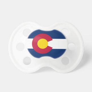 Pacificador con la bandera de Colorado, los Chupete De Bebe